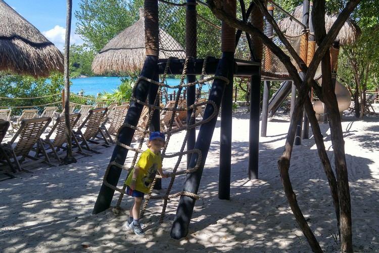 Children World at Xel Ha Park Mexico