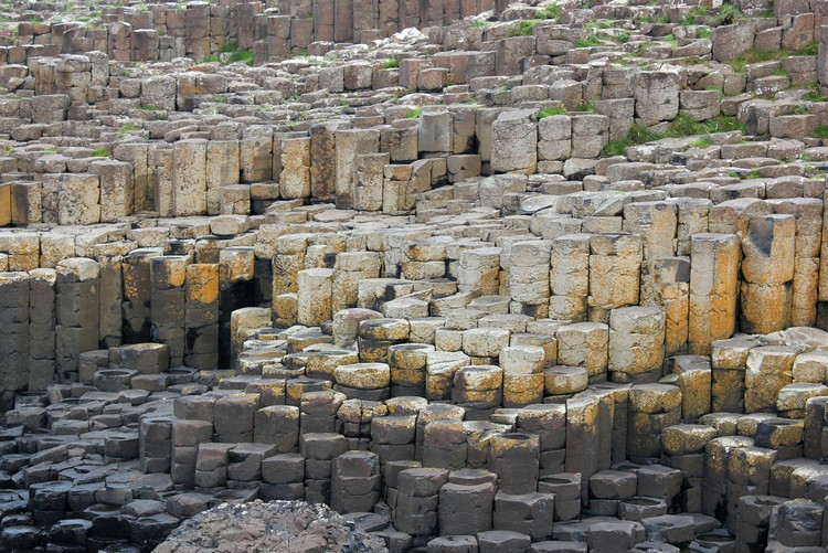 Ireland travel tips - rock formations at Giants Causeway in Northern Ireland