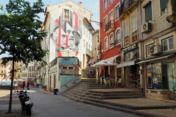 Street art, Coimbra, Portugal