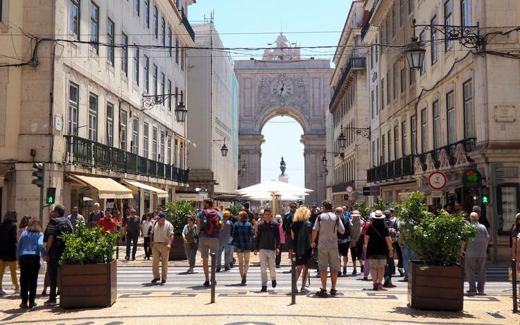 Rua Augusta Triumphal Arch, Lisbon, Portugal