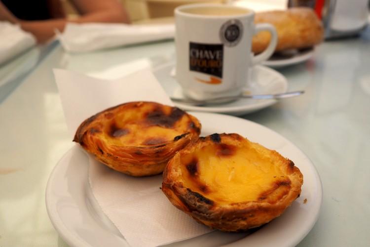 pastel de nata, Lisbon, Portugal