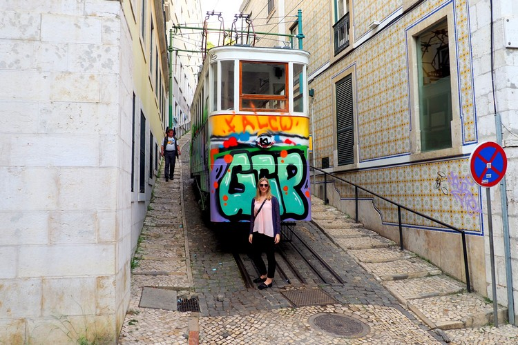 Funicular, Photos of Lisbon, Portugal