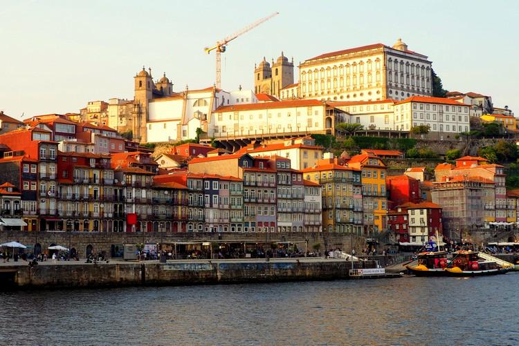City skyline of Porto, Portugal