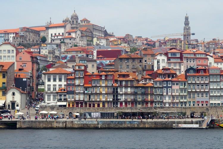 Buildings on the Douro River, Porto, Portugal