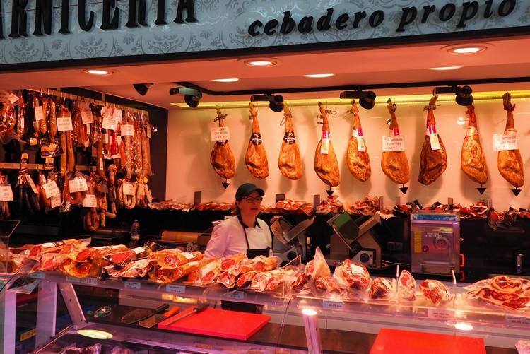 Salamanca Central Market Spain