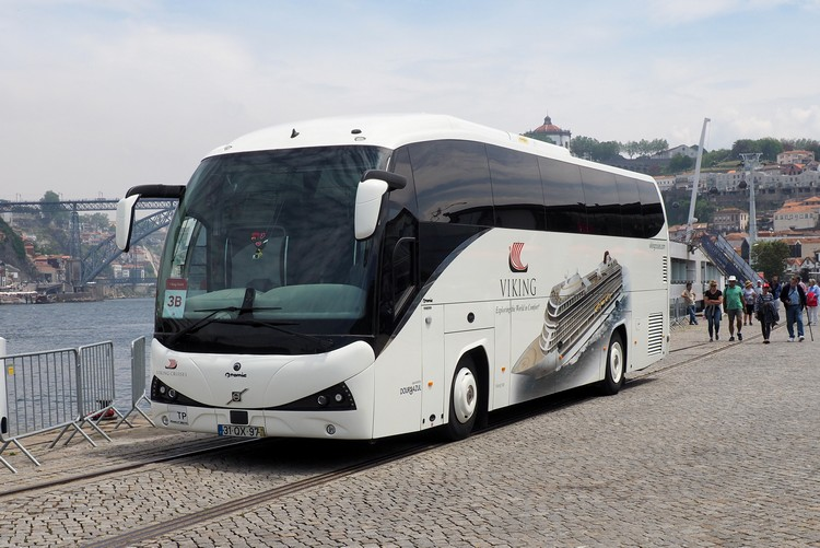 Viking River Cruise coach, Lisbon to Porto