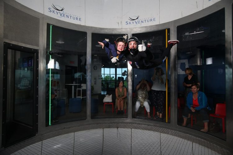 We learned to fly in Quebec! Our first time Indoor Skydiving