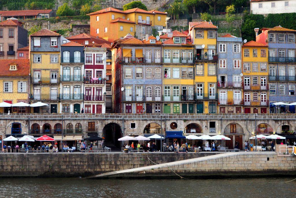 architecture, waterfront, Porto, Douro, Portugal