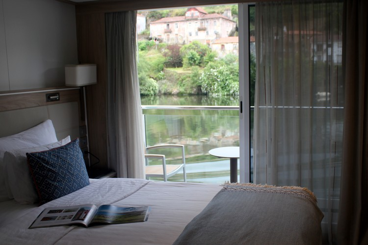 Veranda Suite, Stateroom 321, Viking Osfrid, Portugal river Cruise