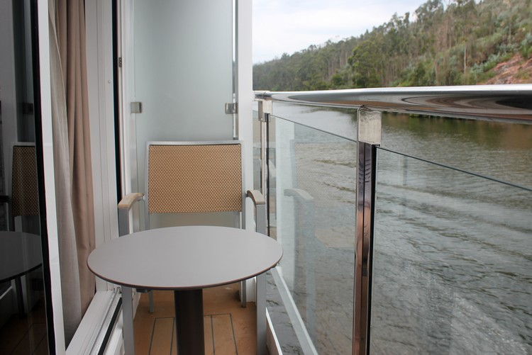 Balcony, Stateroom 321, Viking Osfrid, Portugal river cruise