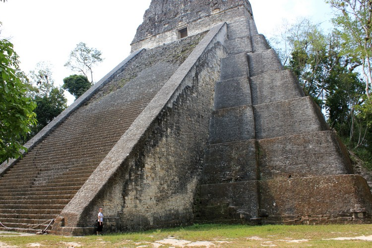 Temple V in Tikal National Park, Guatemala