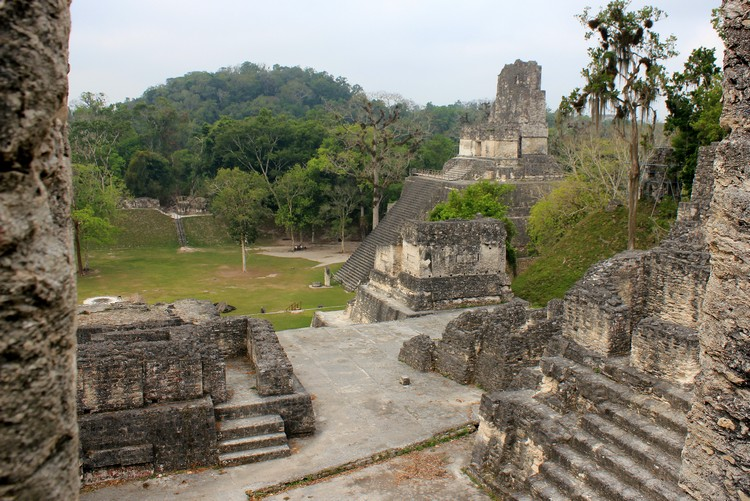 North Acropolis, Mayan Temples, Tikal National Park, Guatemala