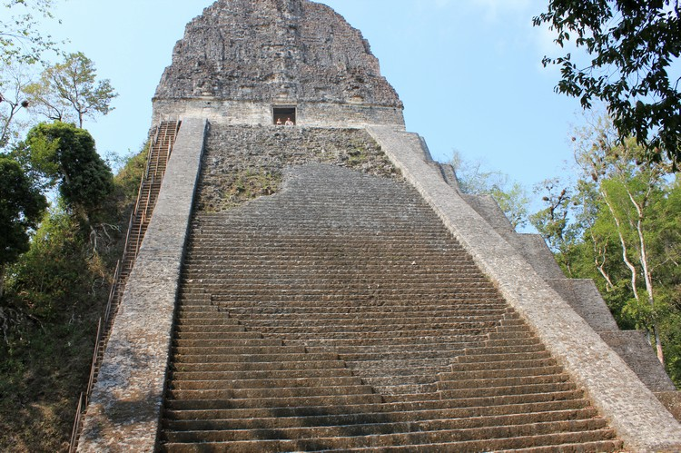 Temple V in Tikal National Park, Guatemala