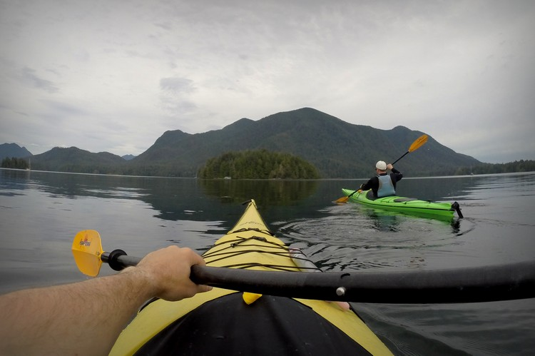 sea kayaking in Tofino, British Columbia