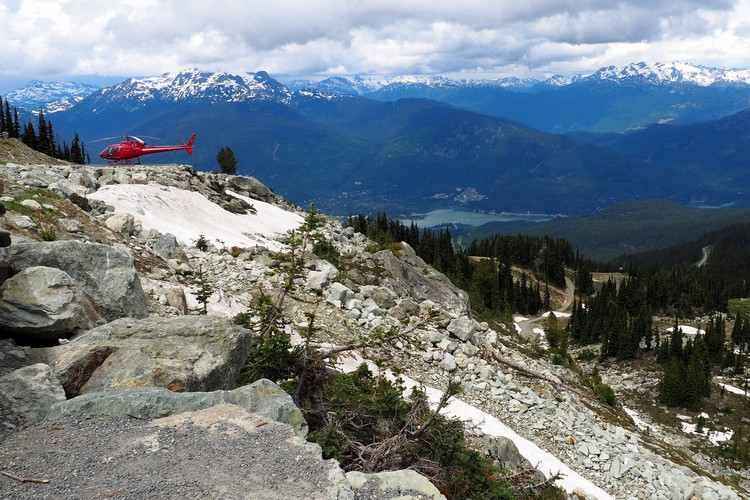 whistler mountain helicopter