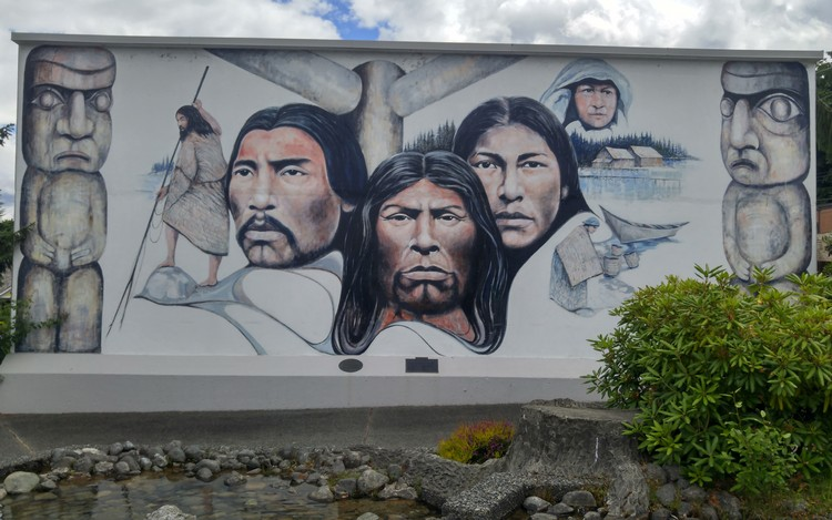 Murals of Chemainus on Vancouver Island