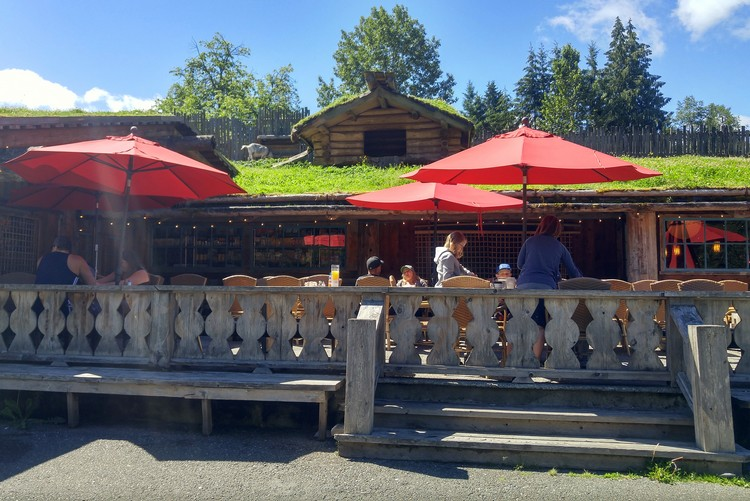 Goats on the Roof, Coombs Market, Vancouver Island