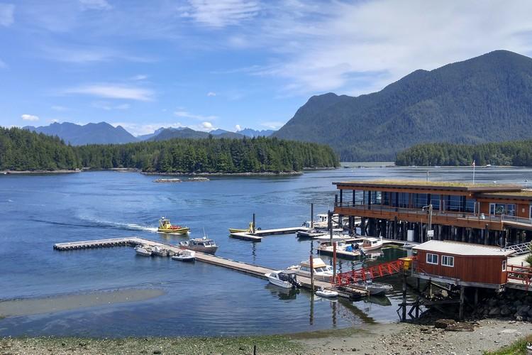Seaplane, Tofino, Vancouver Island, Pacific Rim National Park, British Columbia, Canada