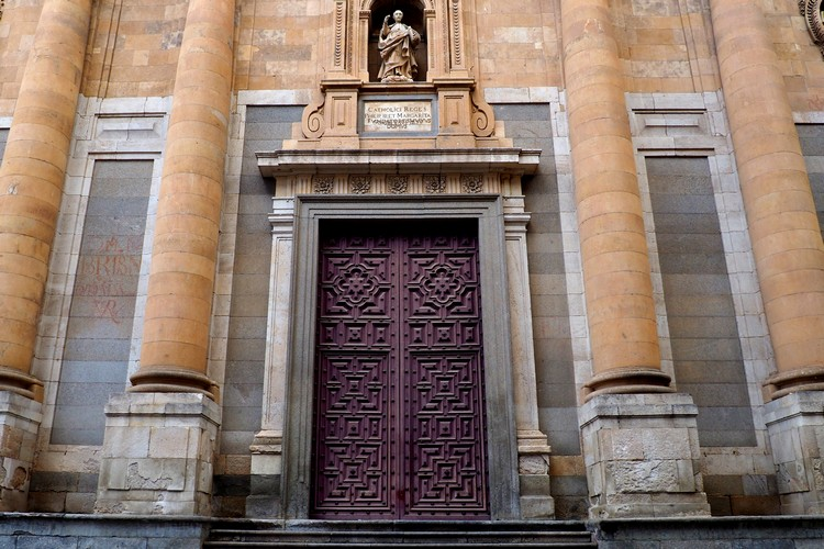 Salamanca University door architecture entrance