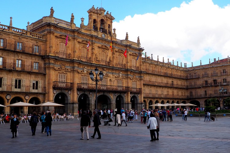 Plaza Mayor, Salamanca, Main Square, Architecture