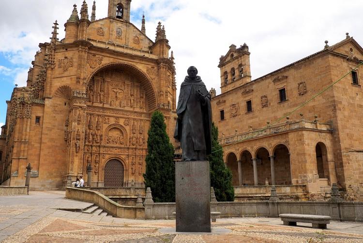 Convento de San Esteban, a Dominican monastery in Salamanca, Spain