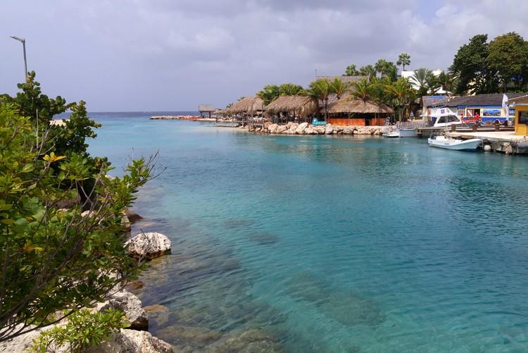 Curaçao beach Caribbean