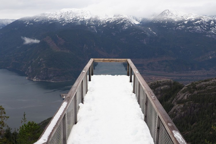 Chief Overlook Viewing Platform, Sea to Sky Gondola, Squamish, British Columbia