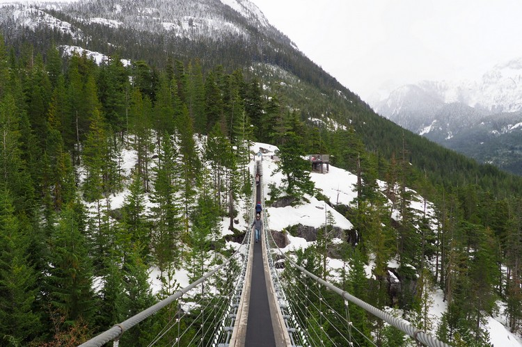 Sky Pilot Suspension Bridge, Sea to Sky Gondola, Squamish British Columbia