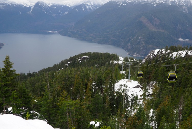 Sea to Sky Gondola in Squamish, British Columbia, Canada
