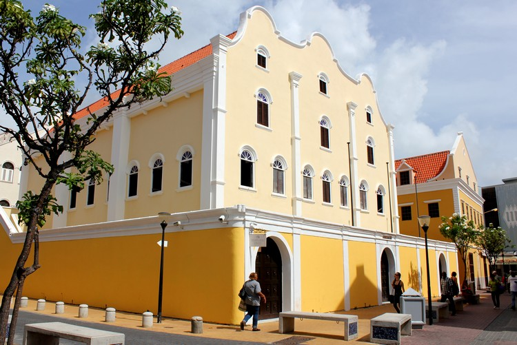 building architecture Willemstad Curacao