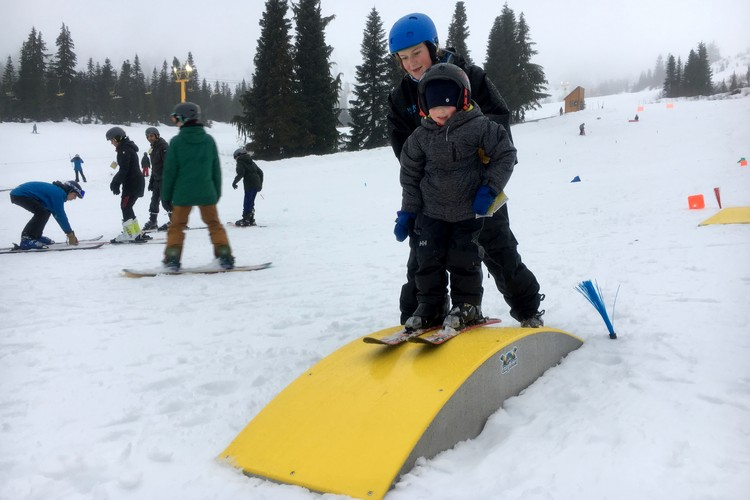 Kids Ski School at Sasquatch Mountain Resort