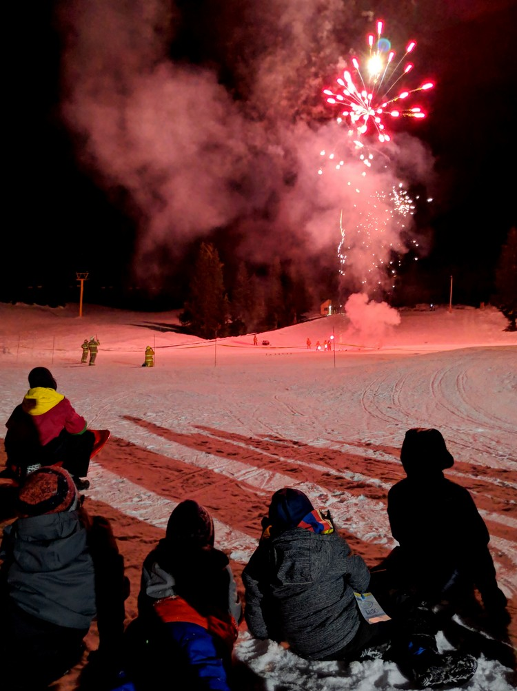 New Year's Eve at Sasquatch Mountain Resort