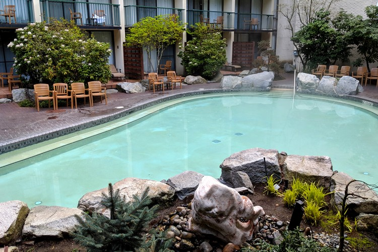 Harrison Hot Springs Resort Adult Pool