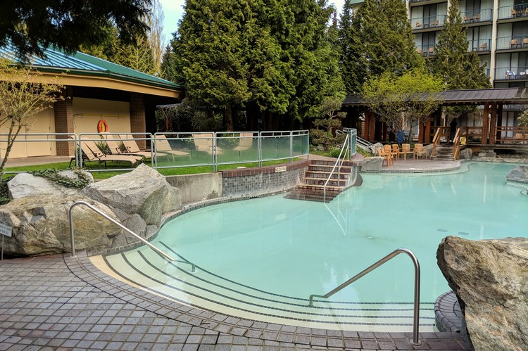 Harrison Hot Springs Resort Outdoor Family Pool