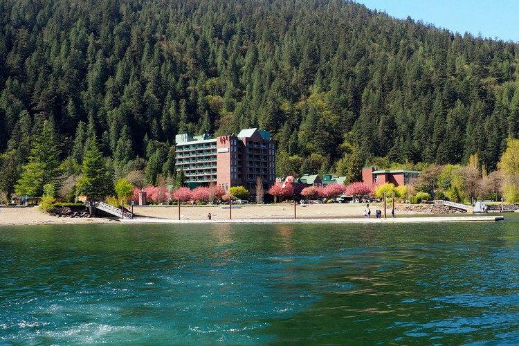 Harrison hot springs resort British Columbia Canada