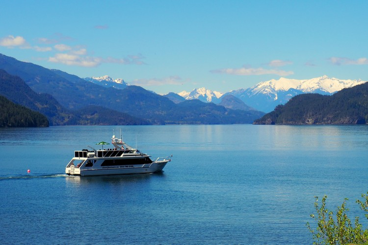 Harrison Lake Cruise with Shoreline Tours