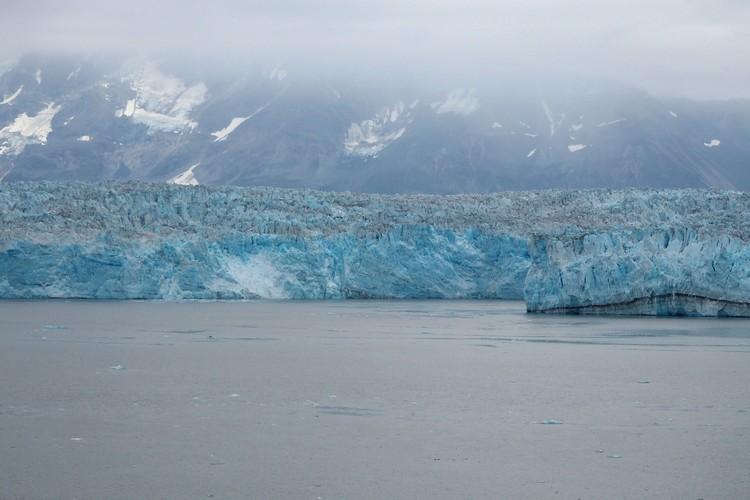 blue glacier in Alaska