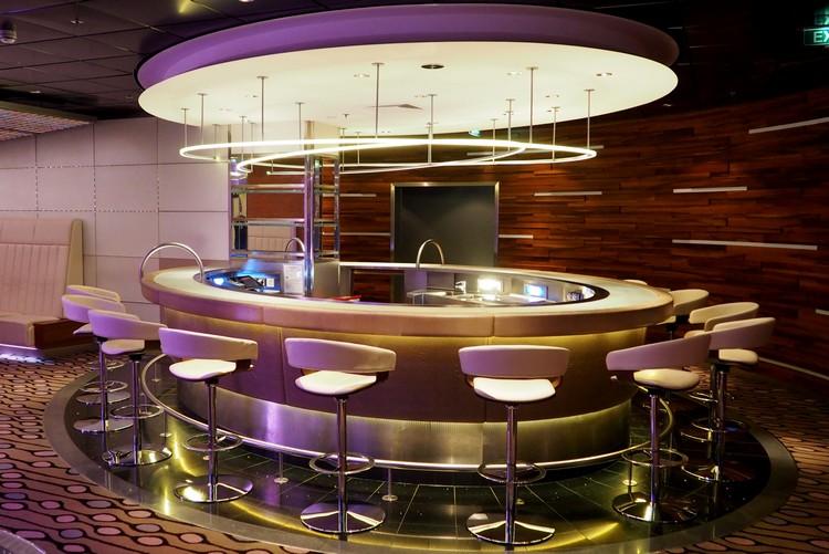 Nightclub on Celebrity Eclipse cruise ship
