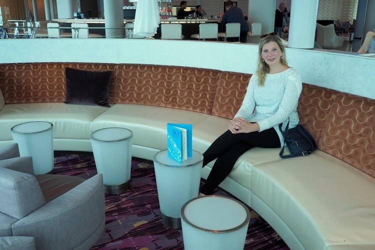 inside the Sky Lounge on Celebrity Eclipse cruise ship Alaska cruise