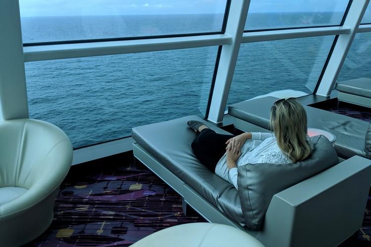 Sky Lounge bar on Celebrity Eclipse cruise ship