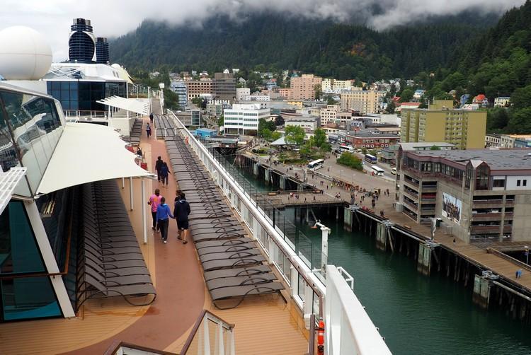 Juneau port, Alaska cruise, Celebrity Eclipse
