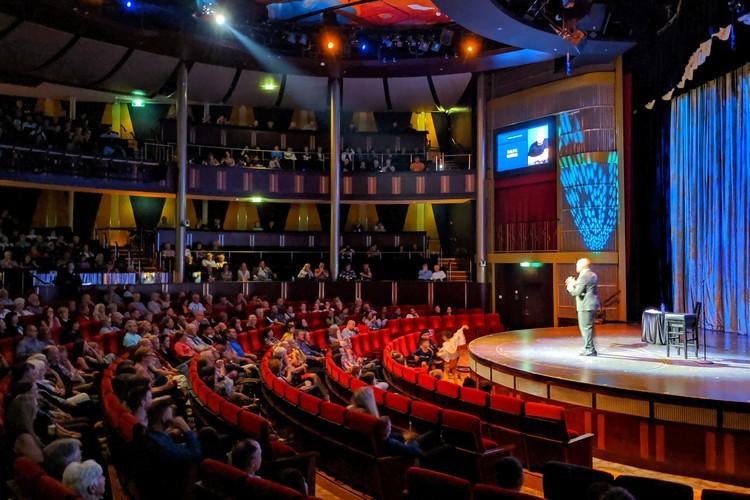Eclipse Theatre on Celebrity Eclipse cruise ship Alaska cruise