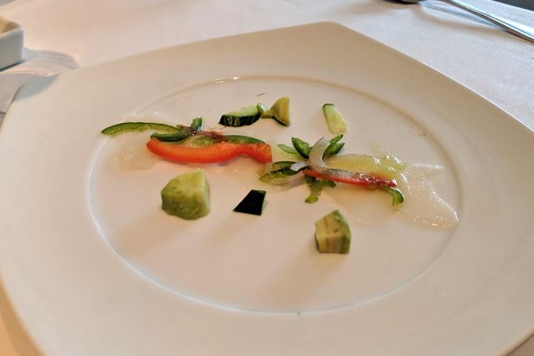 food menu on Celebrity Eclipse cruise ship