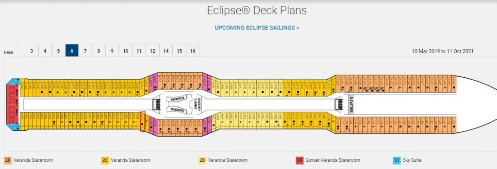 celebrity eclipse deck plans
