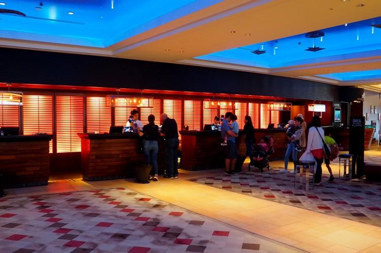 lobby of Sheraton Grande Tokyo Bay Hotel at Tokyo Disneyland