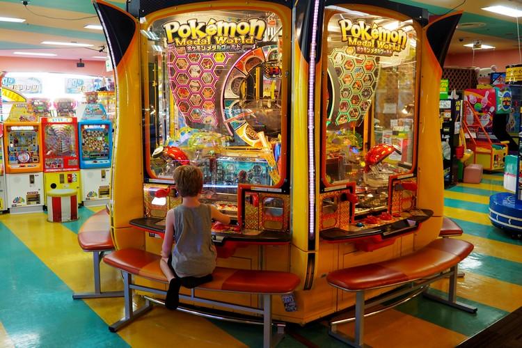 Games in Namco Land at Sheraton Tokyo Disney Resort