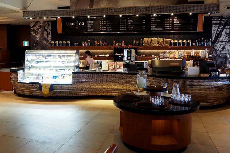Toastina coffee house inside the Sheraton Grande Tokyo Bay Hotel at Tokyo Disneyland