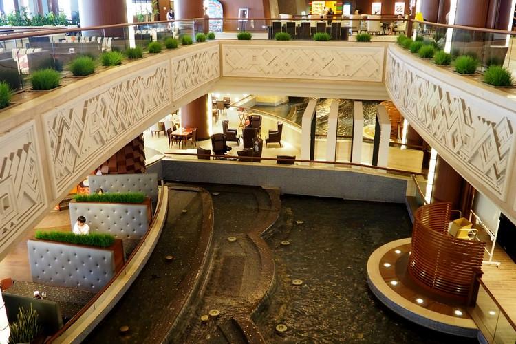 inside the Sheraton Grande Tokyo Bay Hotel at Tokyo Disney Resort