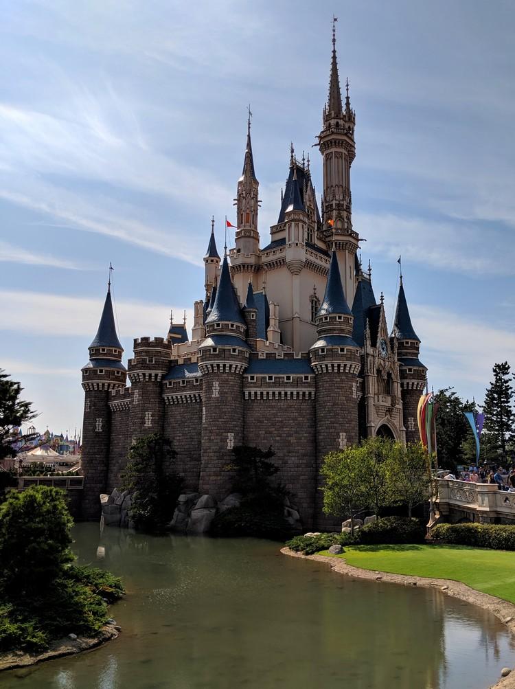 Disney castle inside Tokyo Disneyland, Japan travel guide