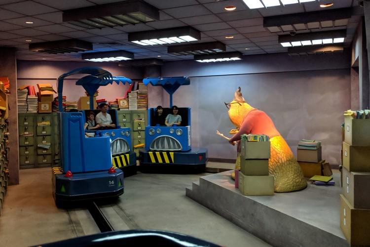 Monsters, Inc. Ride & Go Seek! in Tommorowland Tokyo Disneyland
